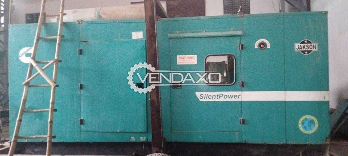 Cummins Jakson Diesel Generator - 250 Kva