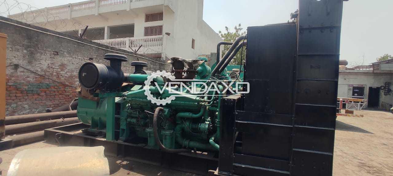 Cummins Diesel Generator - 1000 Kva, 2008 Model