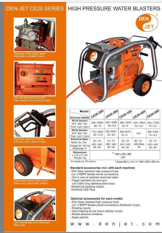 High pressure water blaster 2