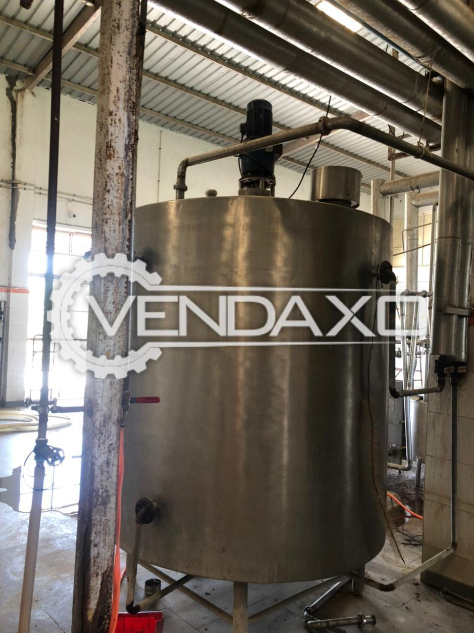 For Sale Used Cream Tank - 2000 Liter