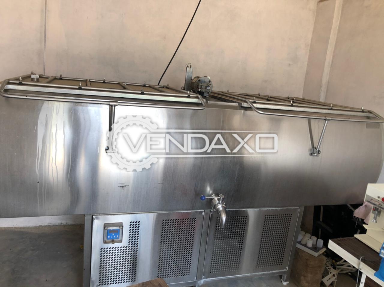 ICE Bulk Milk Cooler (BMC) - 1000 Liter