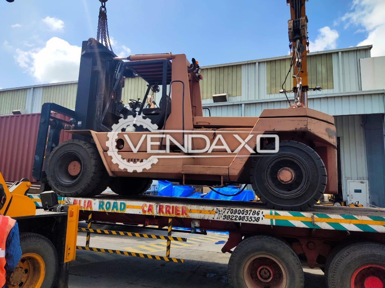 For Sale Used Boss Forklift - 16 Ton