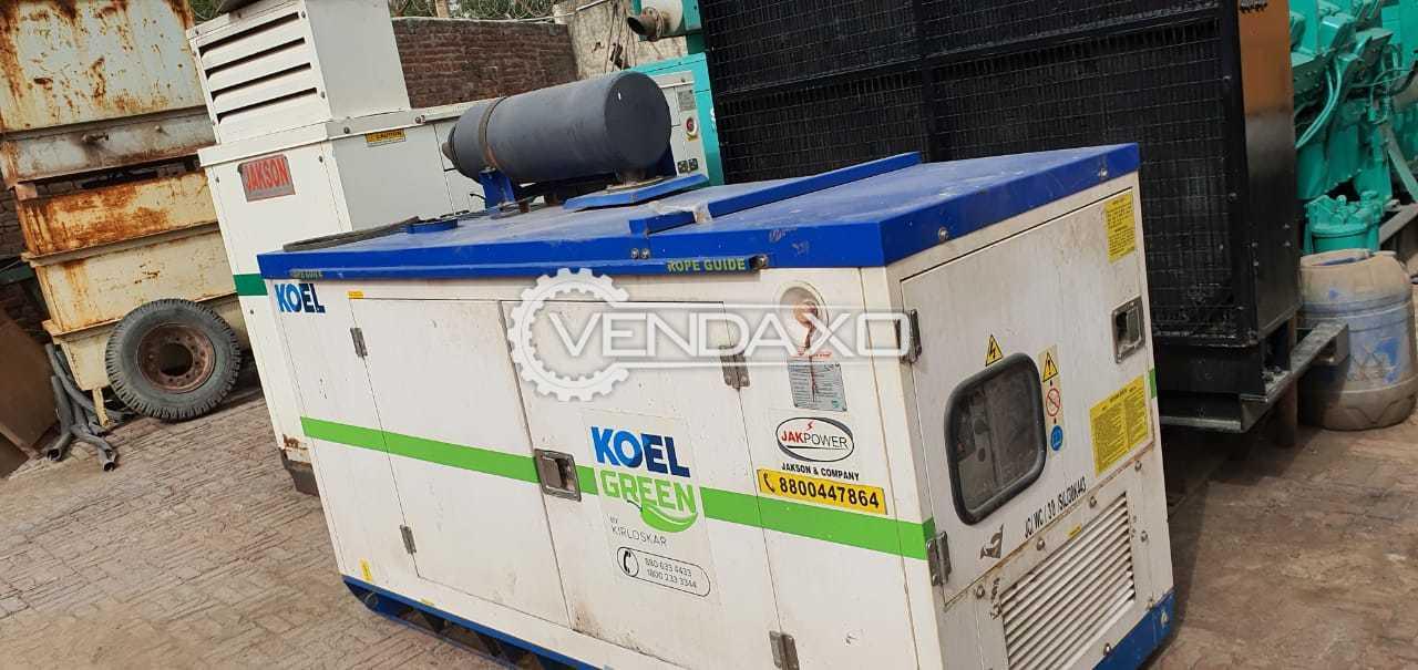 Kirloskar Green Diesel Generator - 30 Kva, 2016 Model