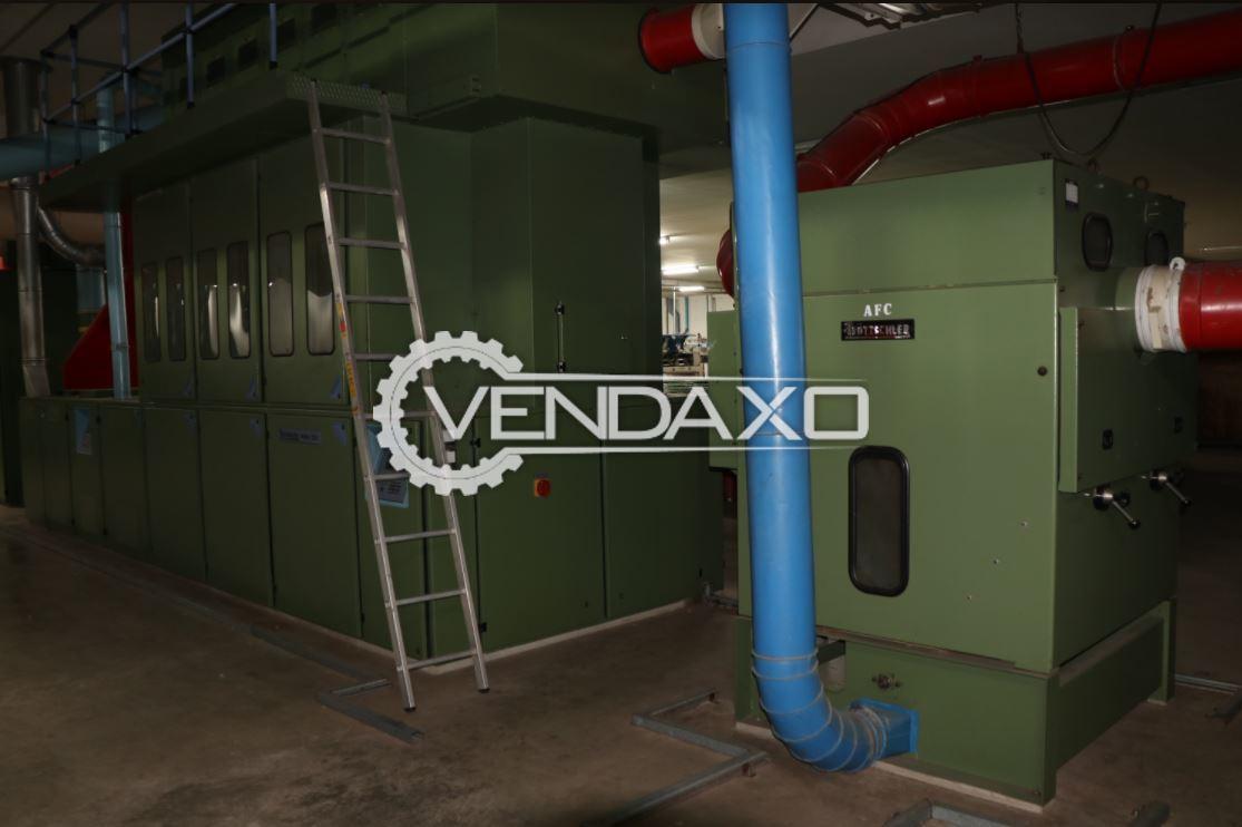 4 Set OF Trutzschler AFC Opener Pre-Cleaner Cotton Machine - 1995 & 1997 Model