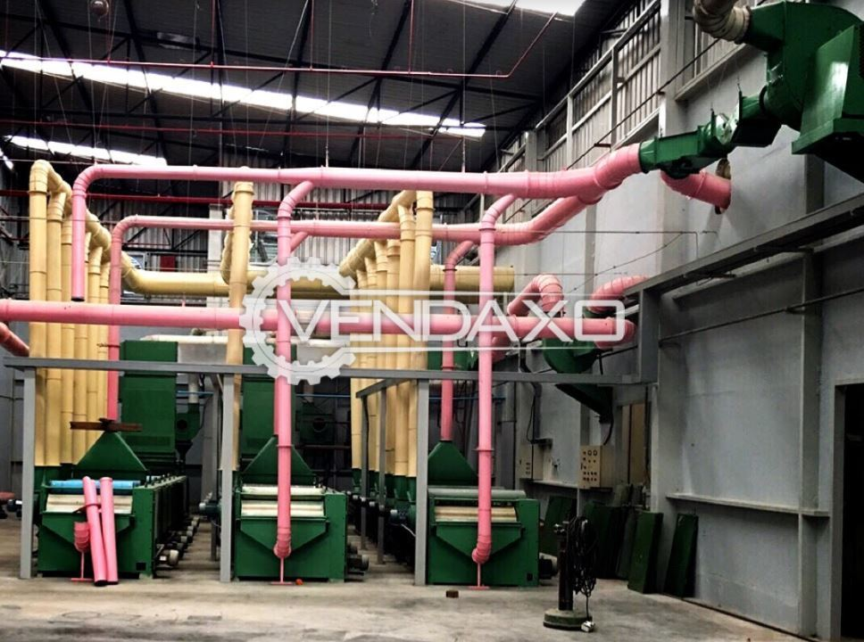 For Sale Complete Setup of Recycling Fabric & Yarn Waste Plant