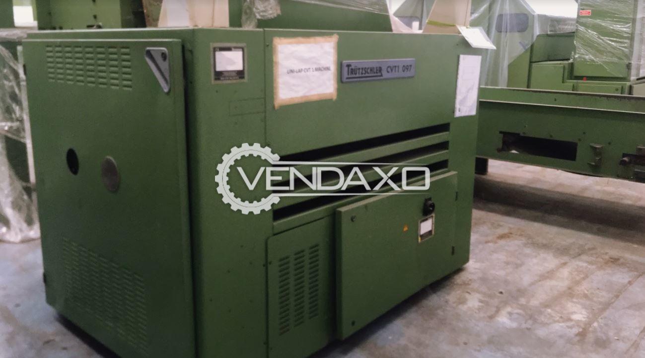 Trutzschler CVT1 097 Waste Cleaner Machine - Width - 1200 mm