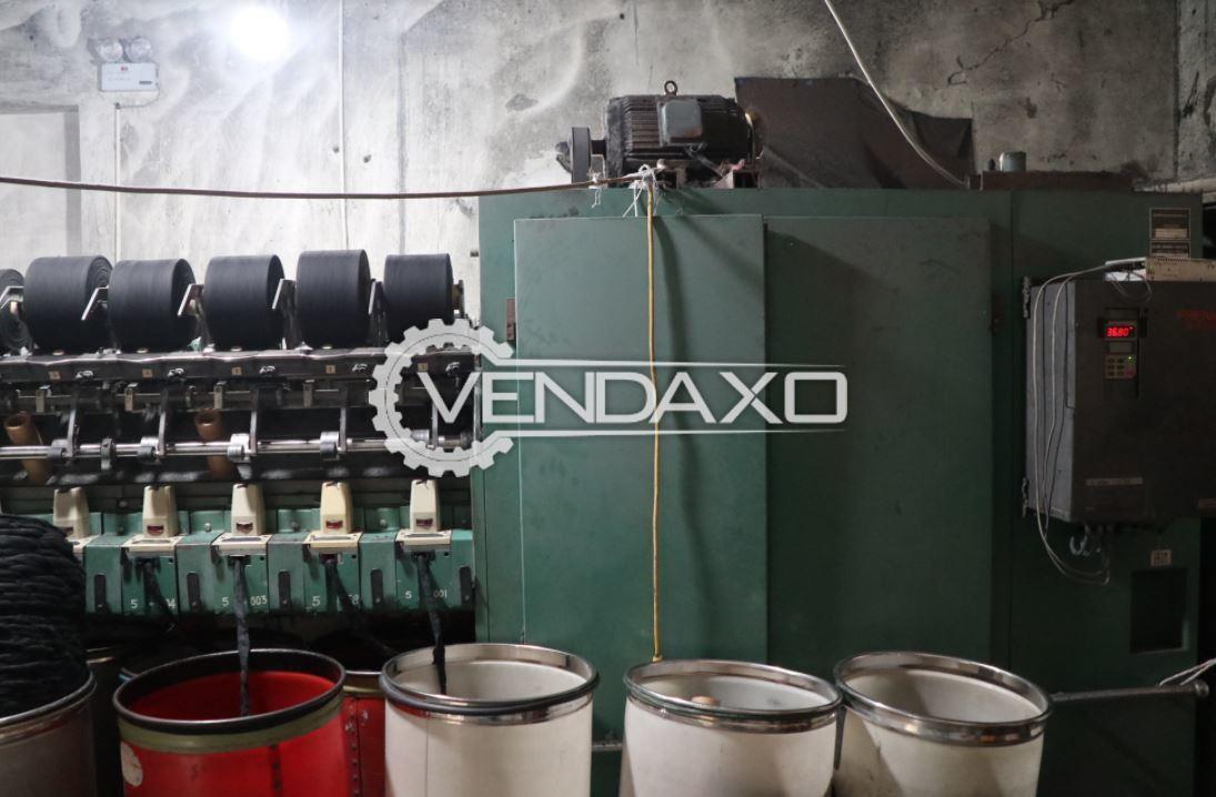 2 Set OF Elitex BD D-2 Open End Spinning Machine - 66 mm, 1996 & 1999 Model