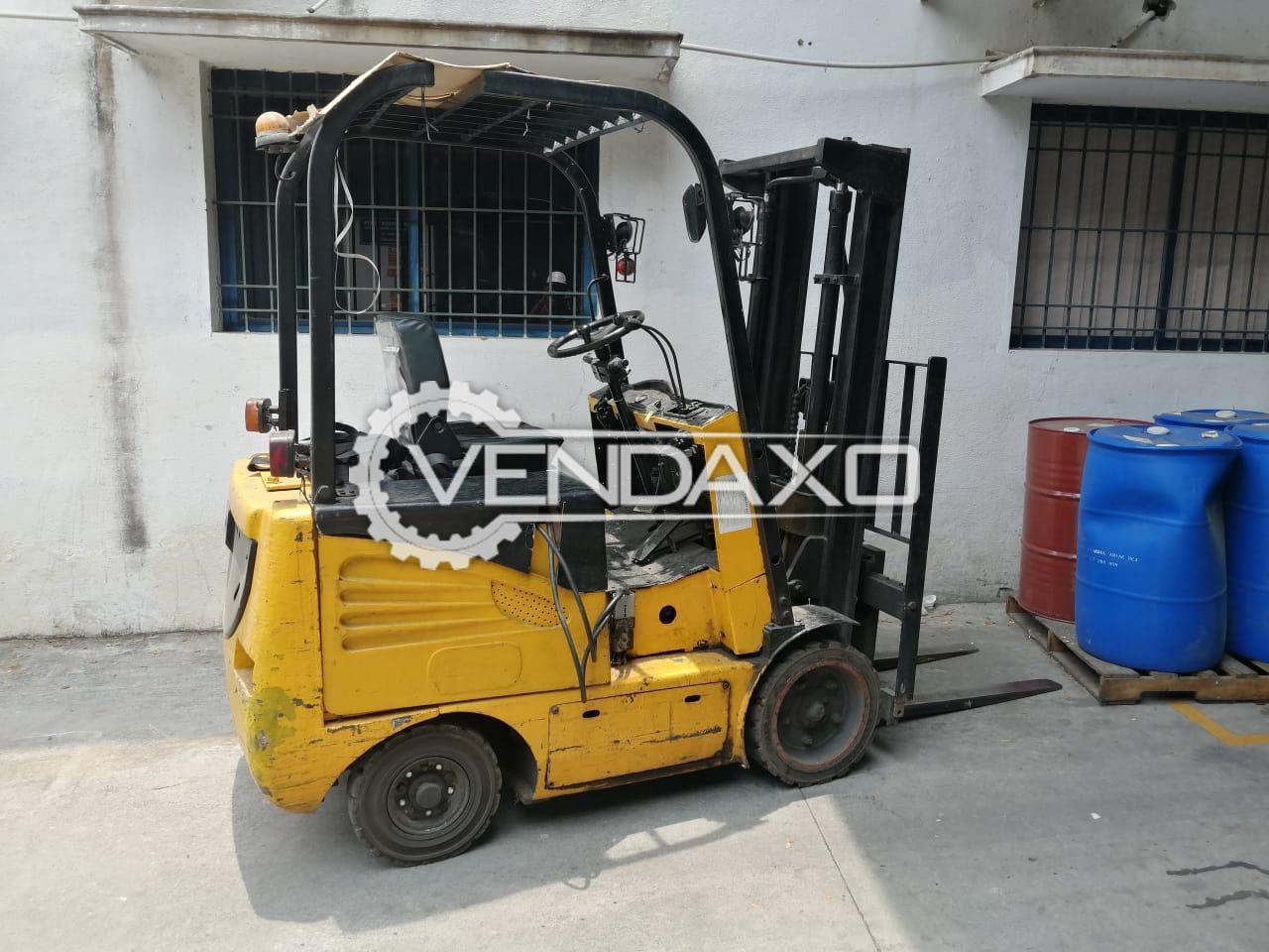 For Sale Used Godrej Battery Forklift - 3 Ton