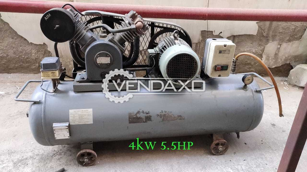 For Sale Used Air Compressor - Motor - 5.5 HP