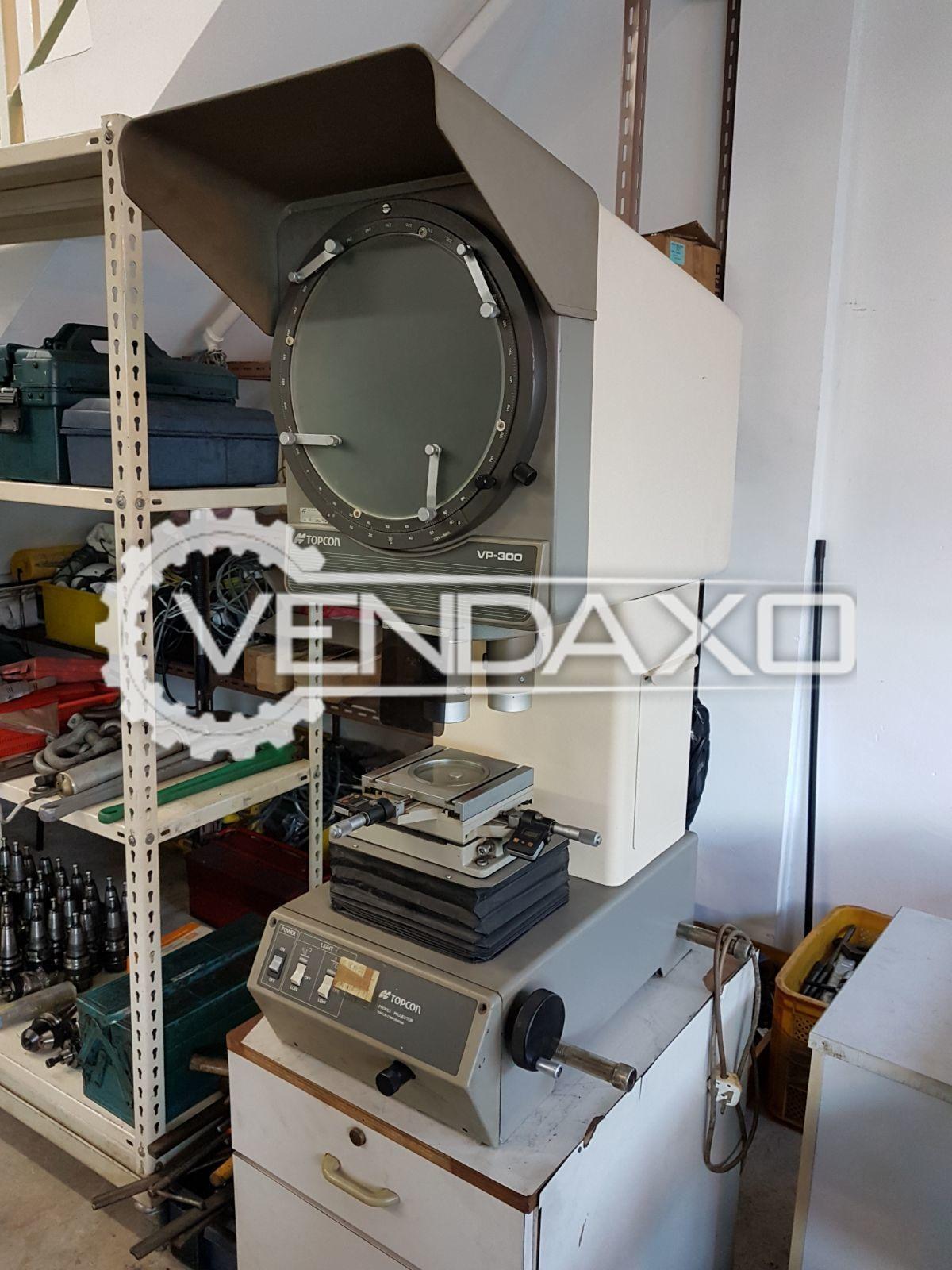 Topcon VP-300 Profile Projecter