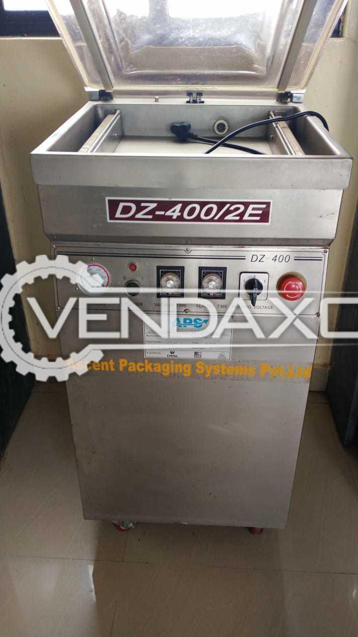 APS DZ-400/2E Vacuum Packaging Machine - 2 Head