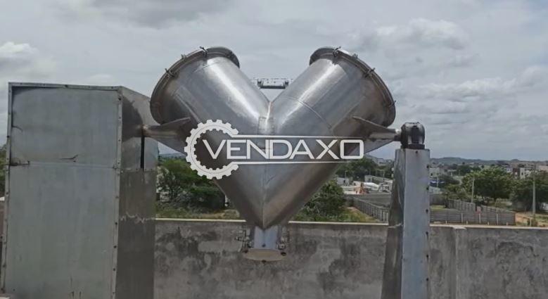 For Sale Used V Type Cone Blender - 500 Liter
