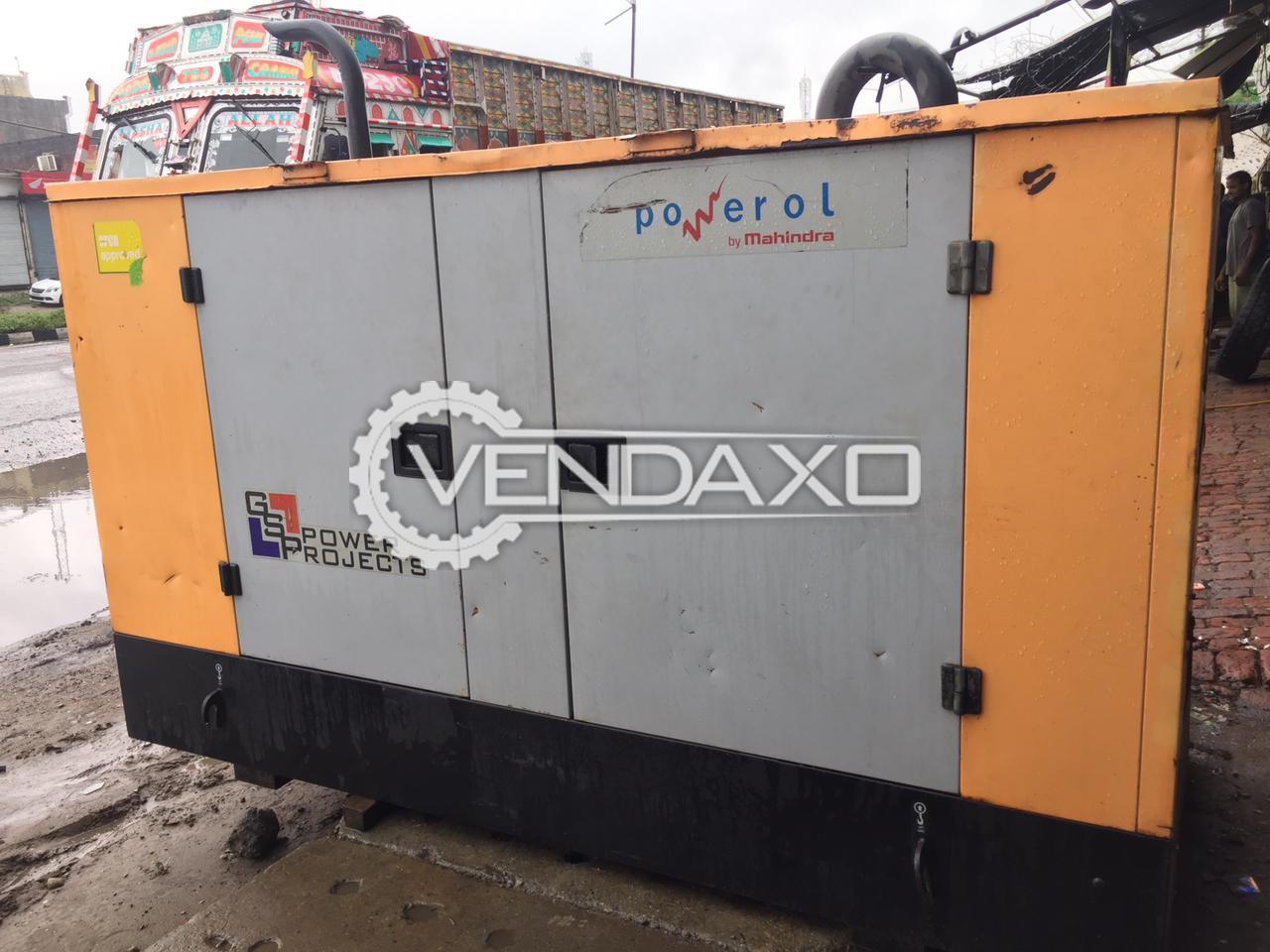 Mahindra Diesel Generator - 30 Kva, 2015 Model