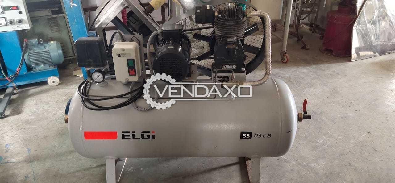 ELGI Air Compressor - Power - 3 HP, 2017 Model
