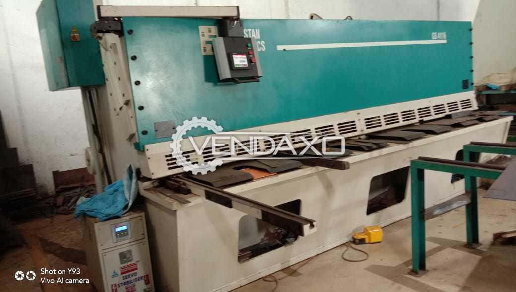Hindustan Hydraulic GS4116 Shearing Machine - 4 Meter X 16 mm