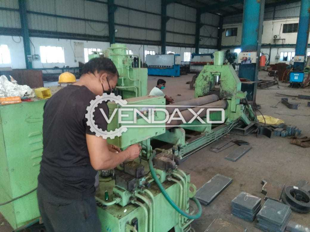 For Sale Used MS Plate Rolling Machine - 16 mm