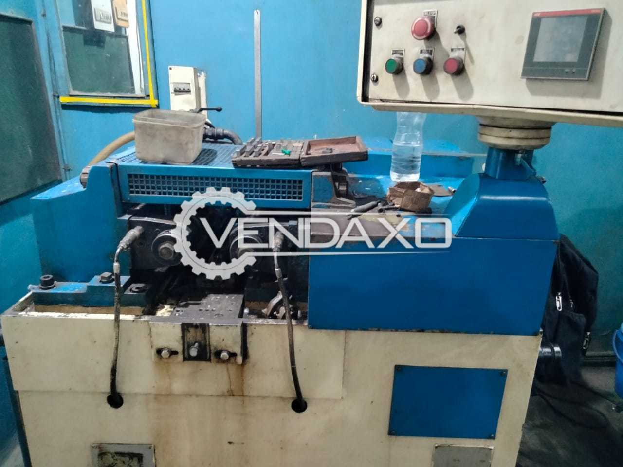 For Sale Used Italy Thread Roller Machine - 18 Ton