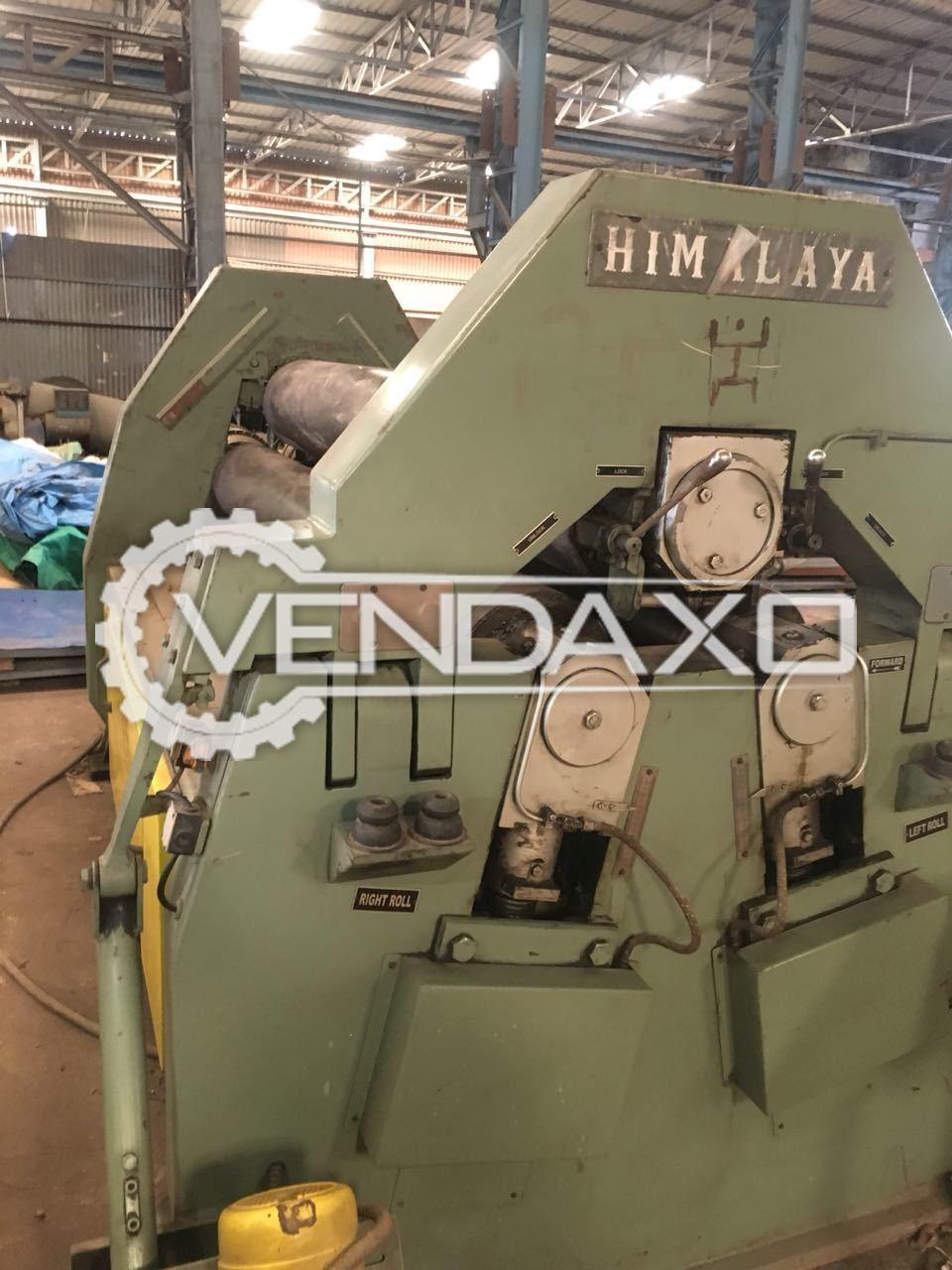 Himalaya Plate Rolling Machine - 2600 x 25 mm