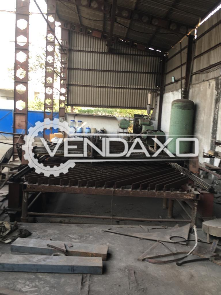 For Sale Used Plate Cutting Machine - 2.6 x 9 Meter