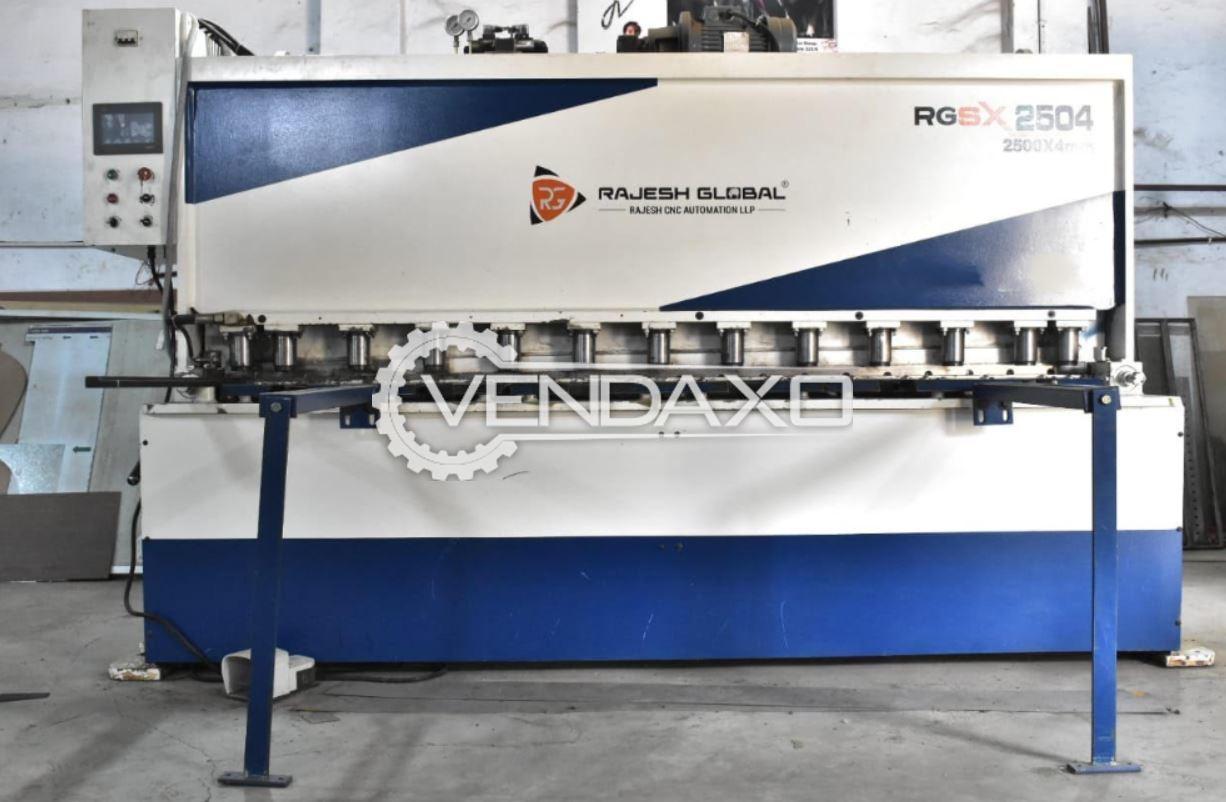 Rajesh RGSX-2504 Hydraulic Shearing Machine - 2500 x 3 to 4 mm