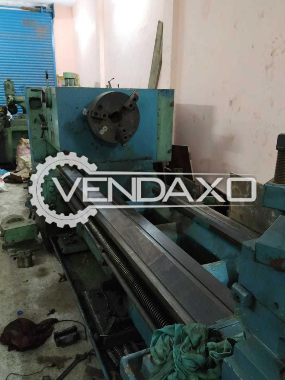 HMT L50 Lathe Machine - 1 Meter x 3000 mm