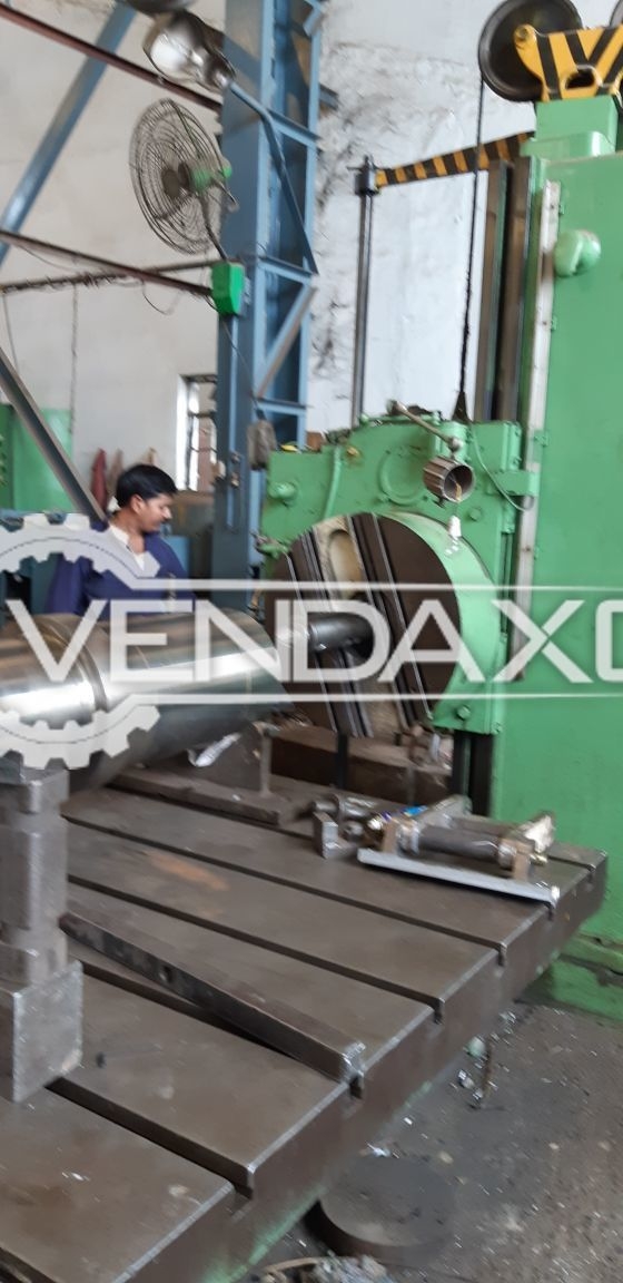 WMW Boring Machine - Spindle Size - 150 mm