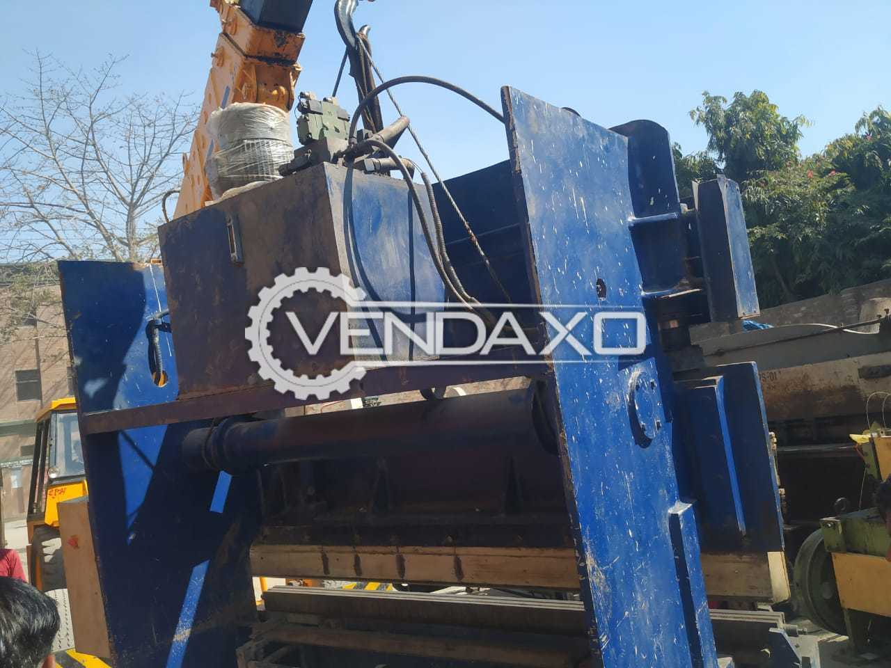 For Sale Used Shearing Machine - 8 Meter x 4 mm