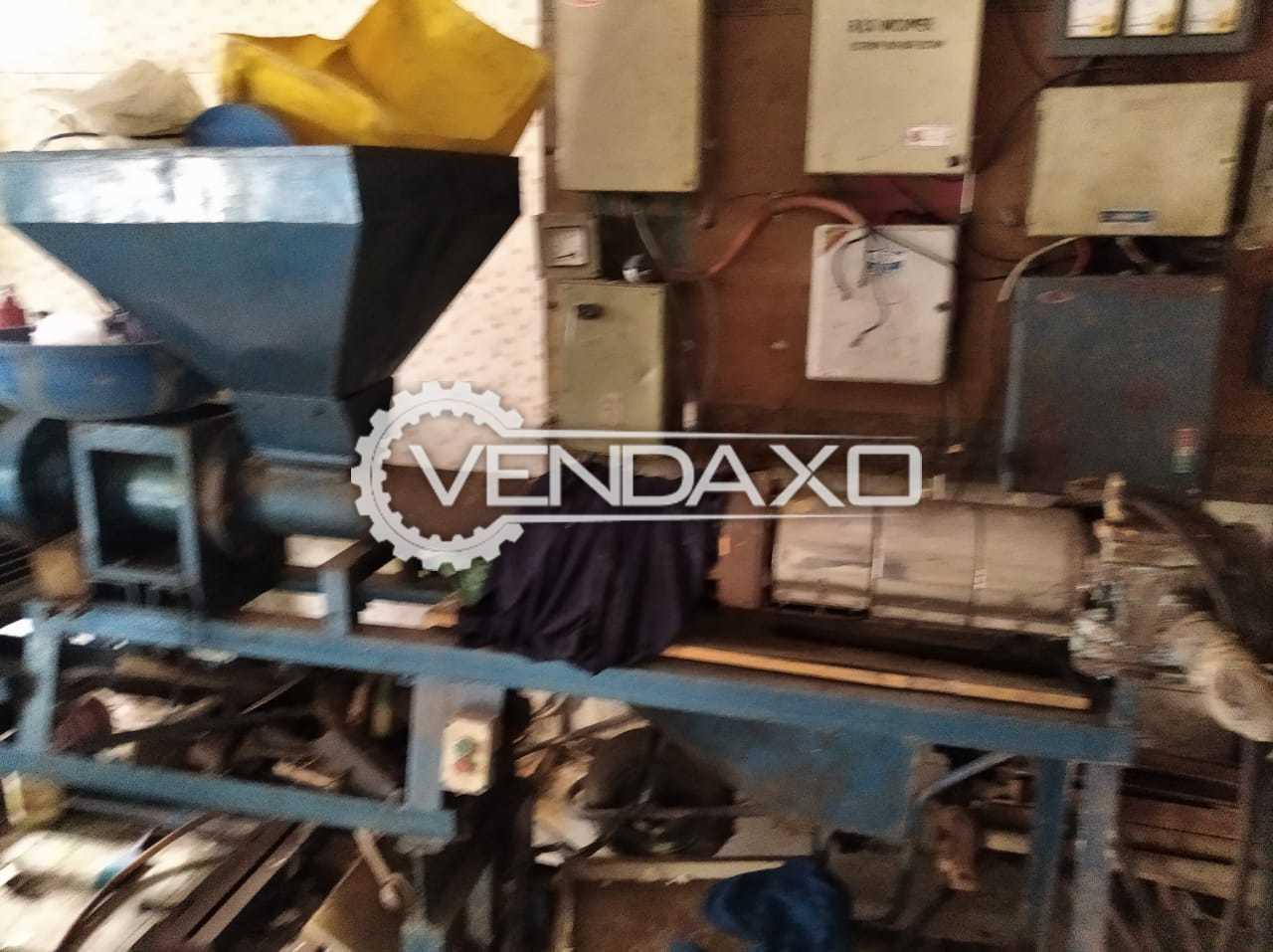 For Sale Used LLDP Dana Making Machine - 2000 KG Per Day