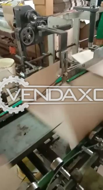 For Sale Used Corrugated Box & Side Pasting Machine - 32 Inch