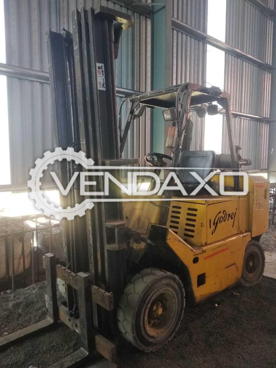 Godrej 300GxD Forklift - 3 Ton