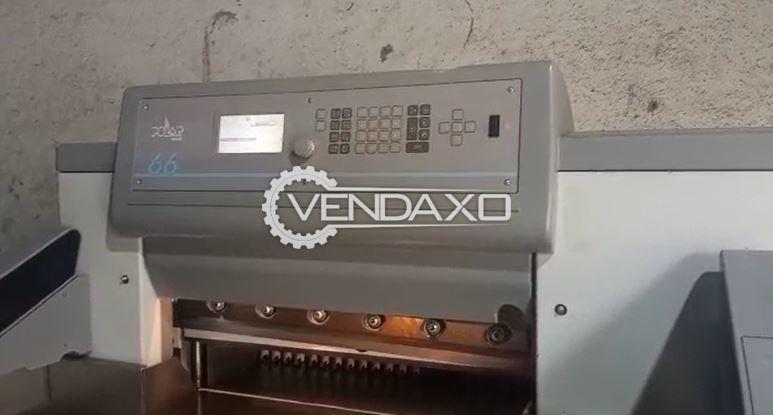 Polar Mohr 66 Paper Cutting Machine - 26 Inch