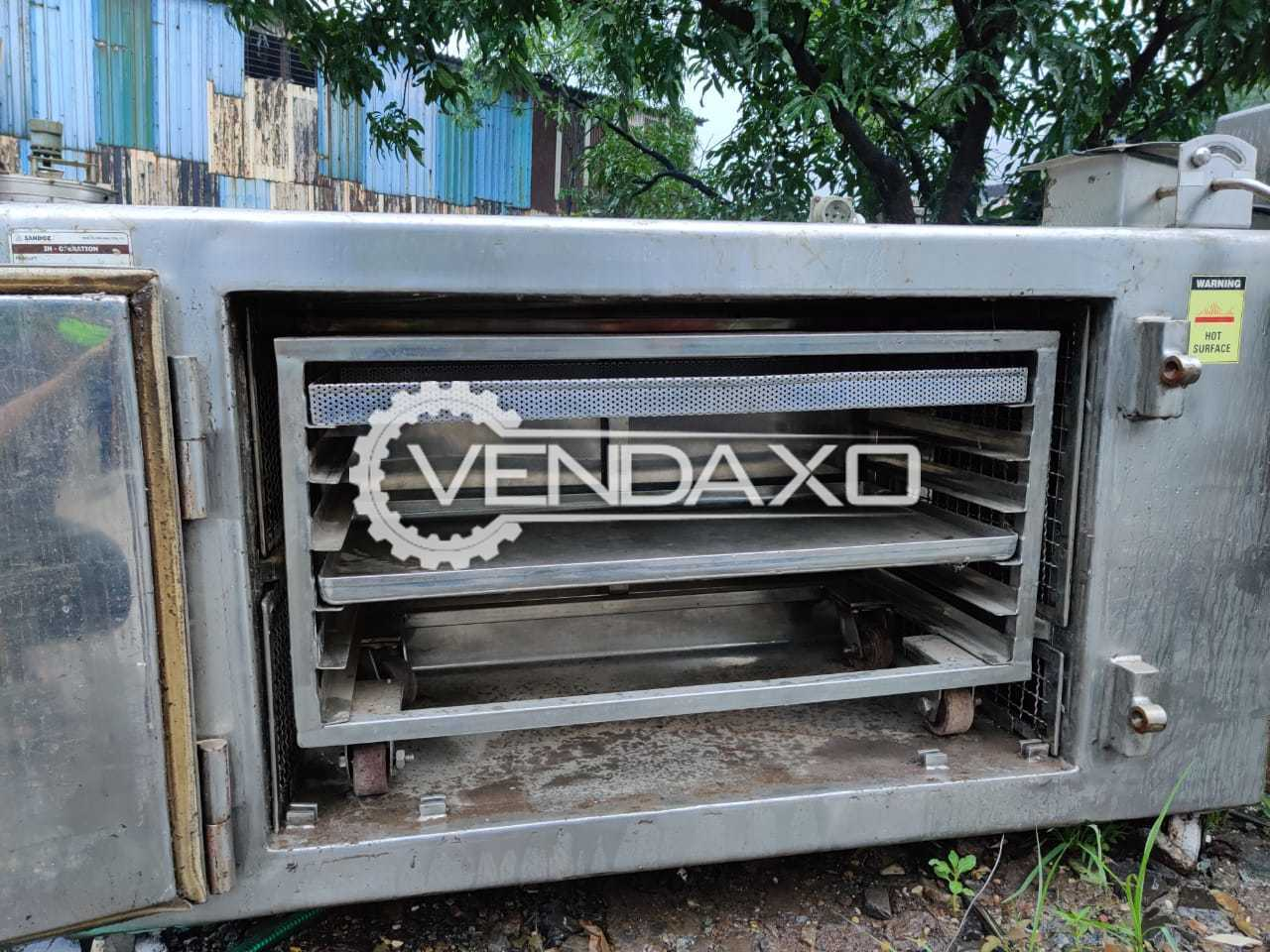 SS GMP Tray Dryer - 6 Tray