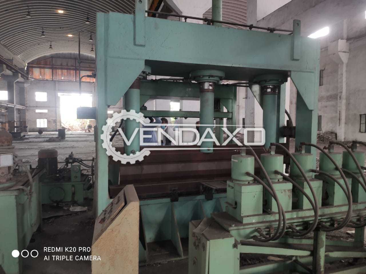 For Sale Used Hydraulic Bending Machine - 2500 x 16 mm