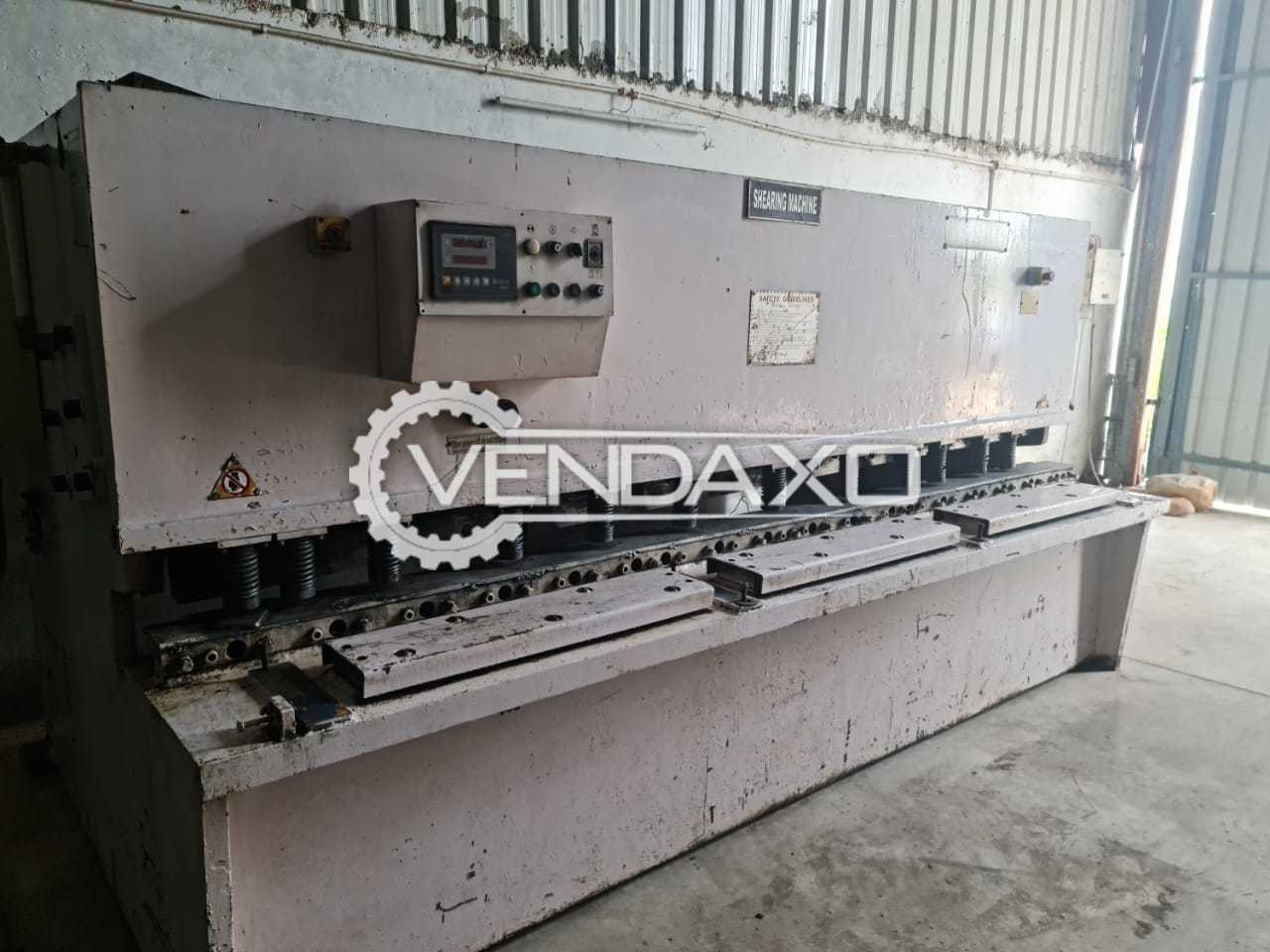 For Sale Used Hydraulic Shearing Machine - 3200 x 10 mm