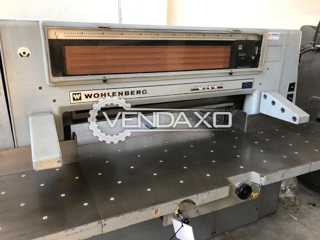 Wohlenberg 115 Paper Cutting Machine - 45 Inch
