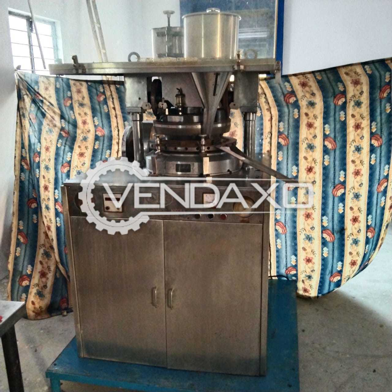 CLIT B Tooling Tablet Press Machine - 27 Station