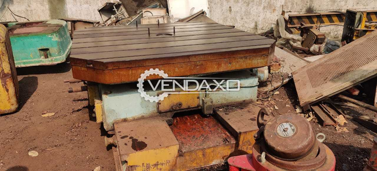 For Sale Used Rotary Table - 2 x 2 Meter