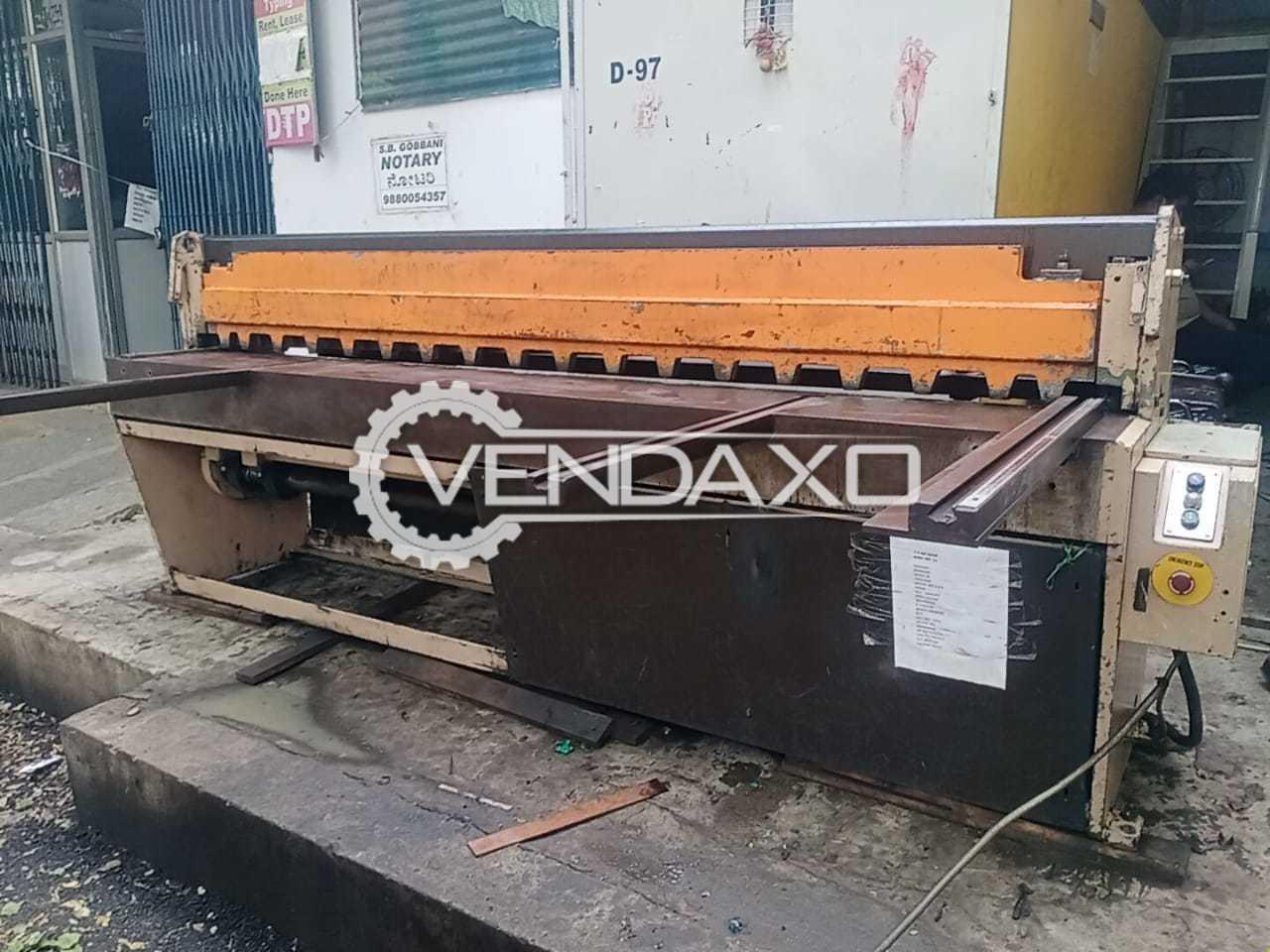 Edwards 3.5/2500 Shearing Machine - 3.5 Meter x 2540 mm