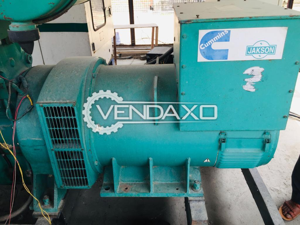 Cummins Jakson Diesel Generator Engine - 250 Kva