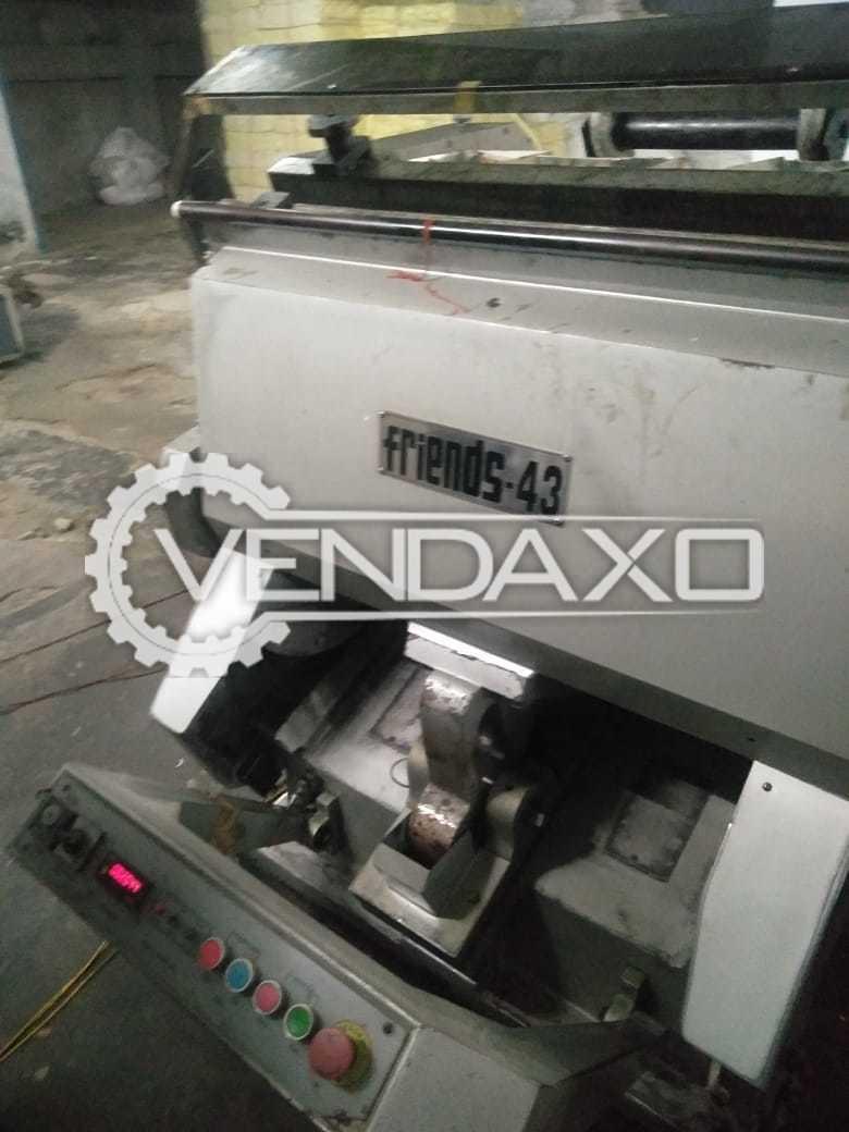 Friends 43 Die Punching Machine - 28 x 40 Inch