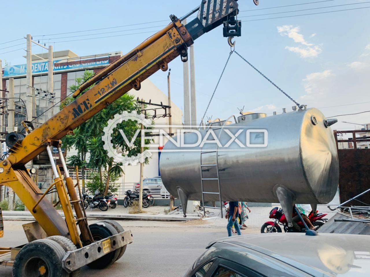 For Sale Used Storage Tank - 3500 Liter