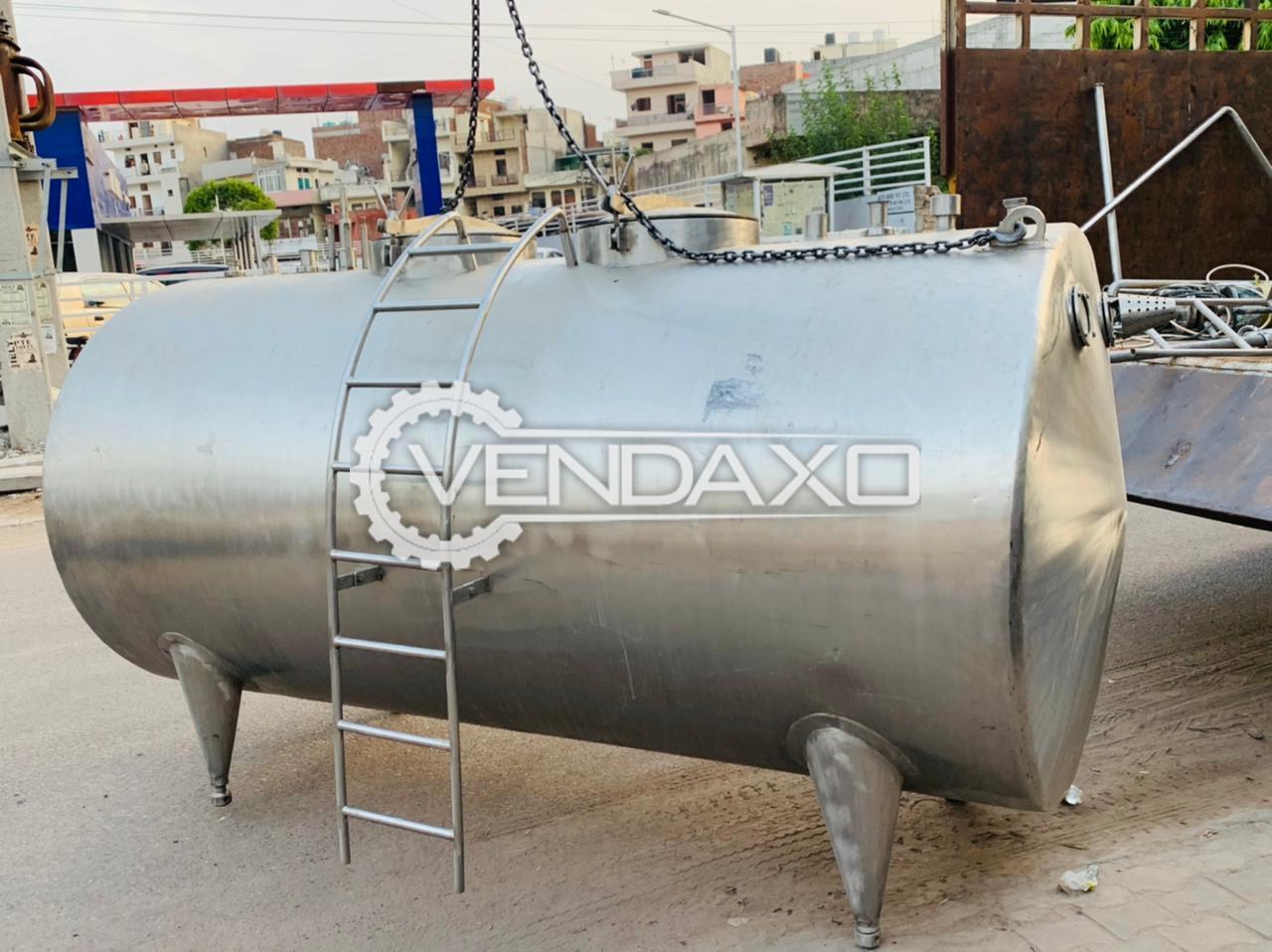 For Sale Used Storage Tank - 6000 Liter