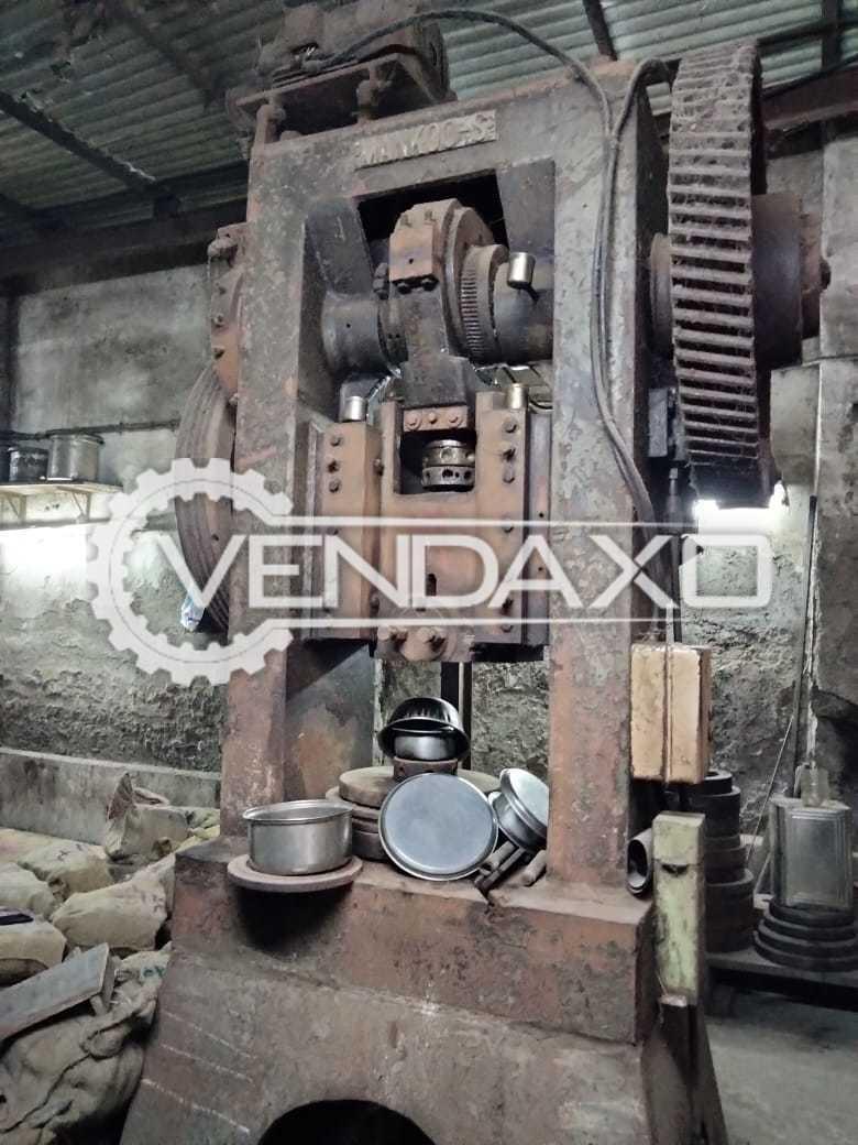 Mankoo Power Press Machine - 100 Ton