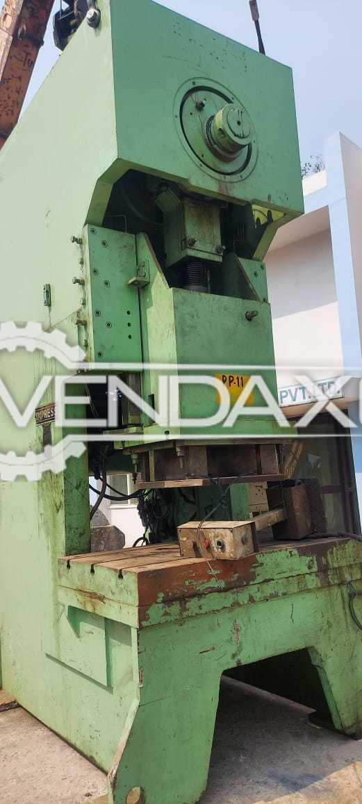 For Sale Used Impress Power Press - 200 Ton