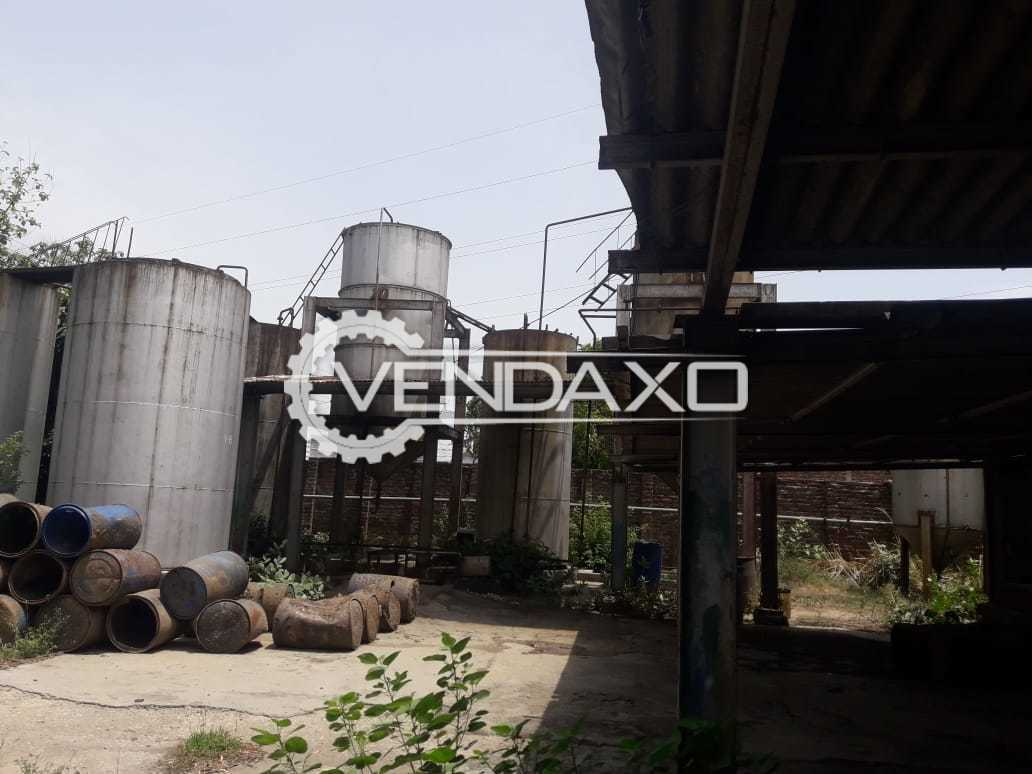 For Sale Used MS Storage Tank - 10 to 40 KL