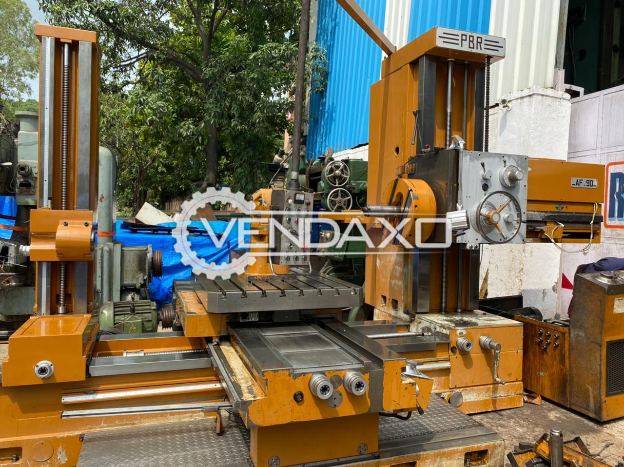 PBR AFU 90 Boring Machine - Spindle Size - 90 mm