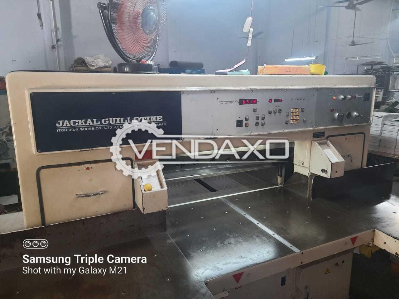 ITOH Jackal Paper Cutting Machine - 34 Inch