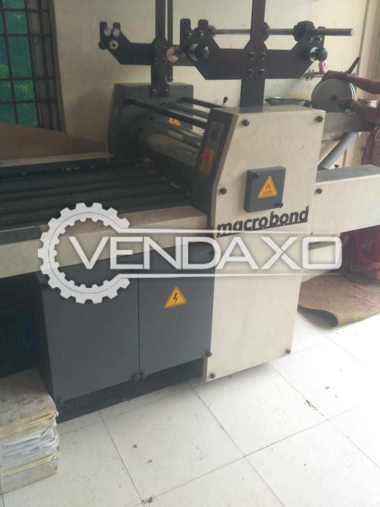 Macrobond Thermal Laminator Machine - 26 Inch