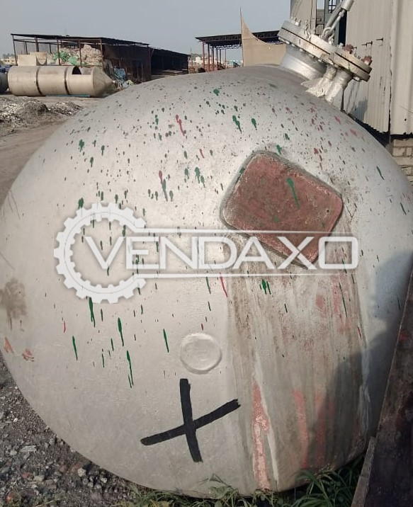 For Sale Used M/S Sheel Chand Agroils High Pressure Bullet For Hydrogen Gas