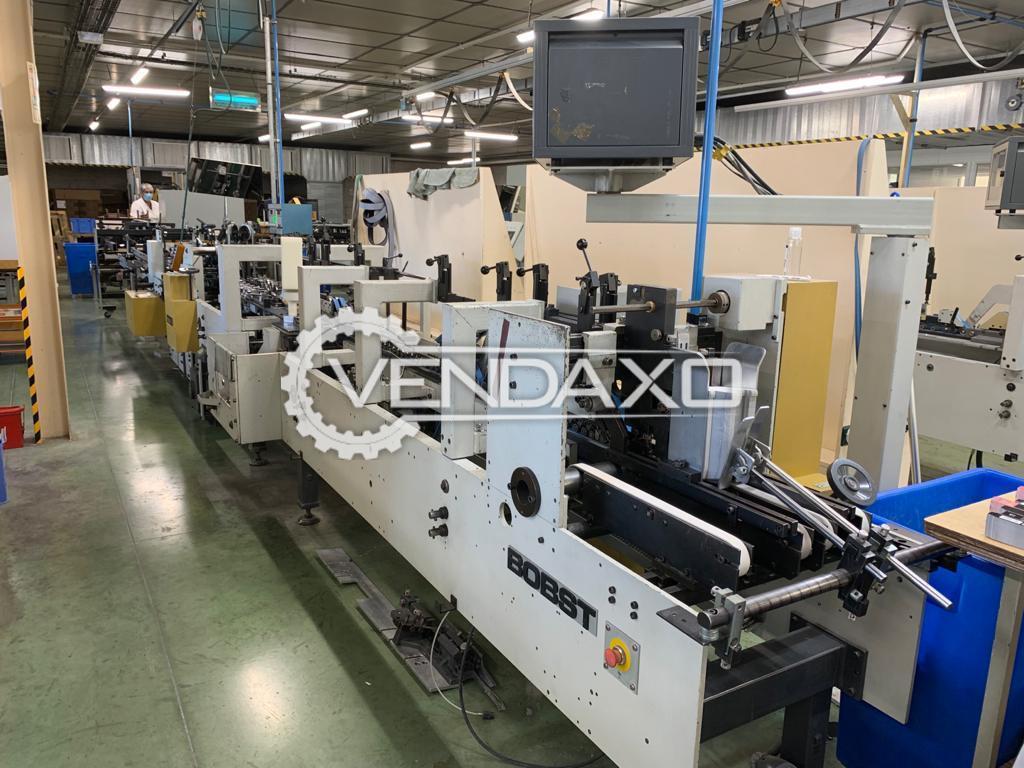 Bobst Media 45 Folding-Gluing Machine - 45 CM
